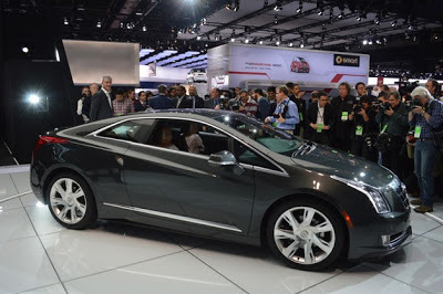 2014 Cadillac ELR wears a suave suit with Volt underpants