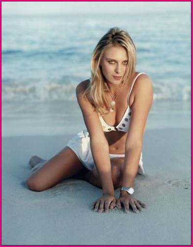 Maria Sharapova in Bikini