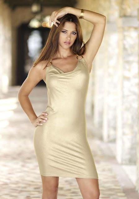 Alina Vacariu in dress fashion