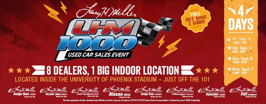 Elegant The Time Has Finally Come For The LHM 1000 Used Car Sales Event! Larry H. Miller  Nissan Mesa Is So Proud To Be A Part Of The This Awesome Event!