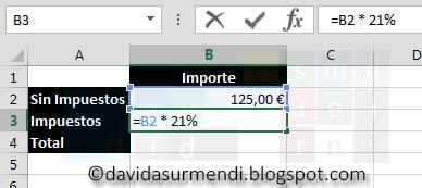 Usamos una constante en la Fórmula de Excel.