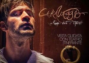Caravaggio a Roma Vita e Opere. Visita guidata con teatro itinerante tour operator I Viaggi di Adriano