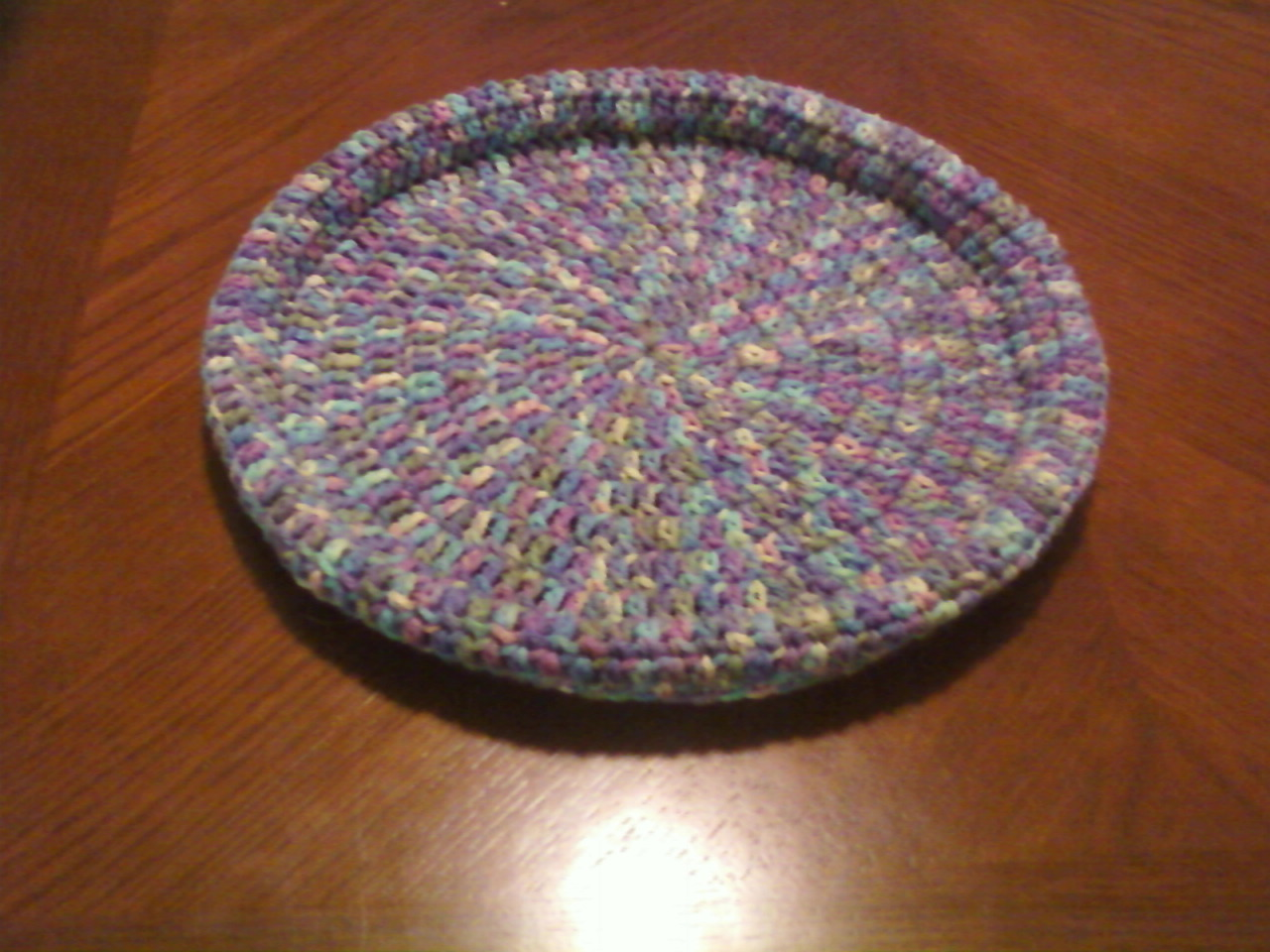 Crochet With Cris: 1 Skein Pet Bed [Pattern]