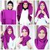 Tutorial Hijab Segi Empat Modern Favorite Remaja Masa Kini