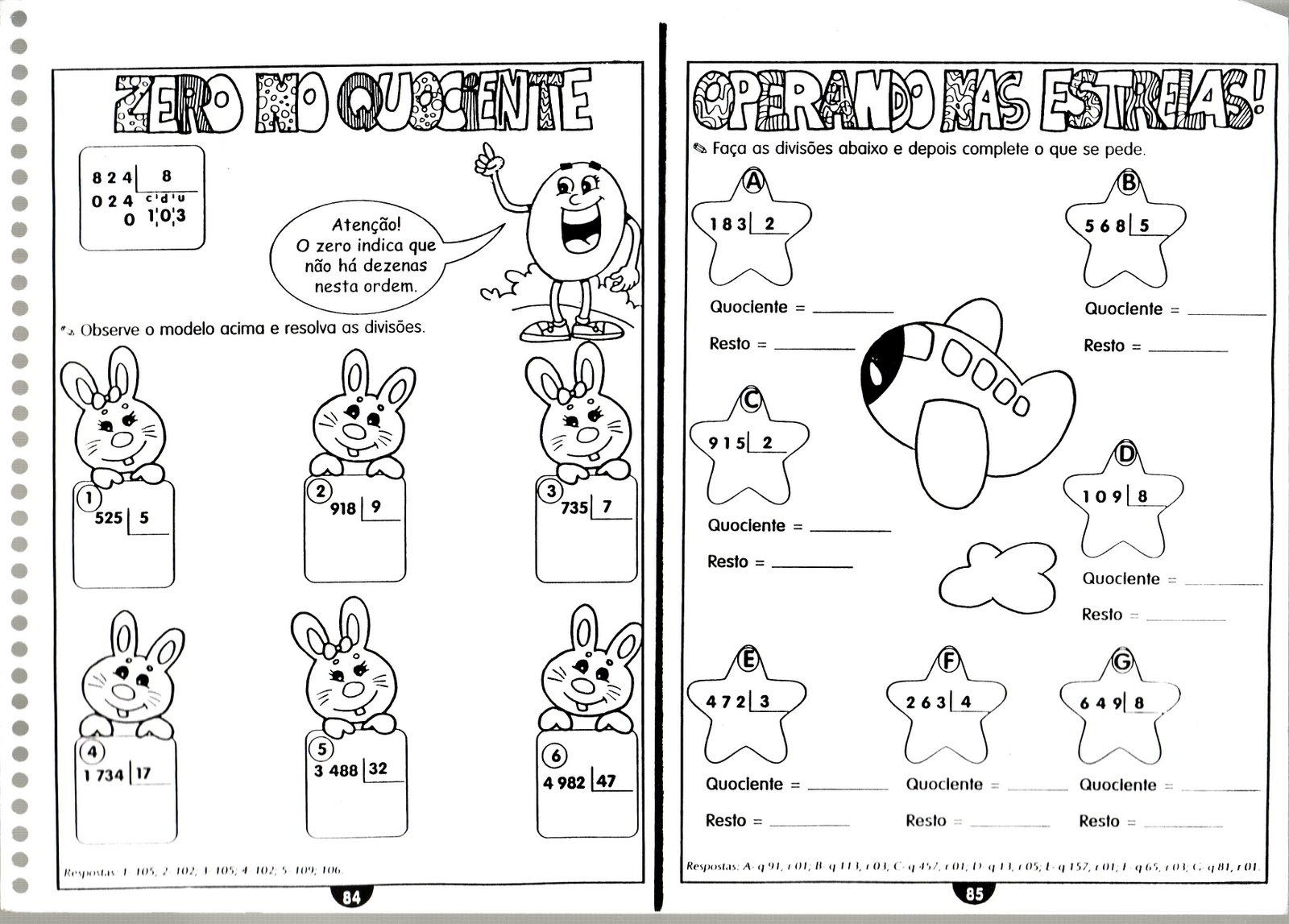 Ano 4   Ano Matematica Coletanea De Atividades De Matematica 3   E 4