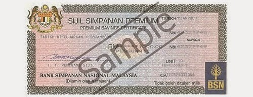 Apa itu sijil simpanan premium (ssp bsn), harga pembelian sijil simpanan premium (ssp bsn), tawaran hadiah untuk pemenang sijil simpanan premium bsn tahun 2015, kelebihan & manfaat beli sijil ssp bsn, syarat menyimpan dan membeli sijil ssp bsn, gambar sijil simpanan premium bsn