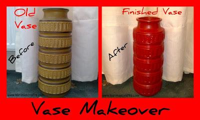 vase makeover spray muslim blog