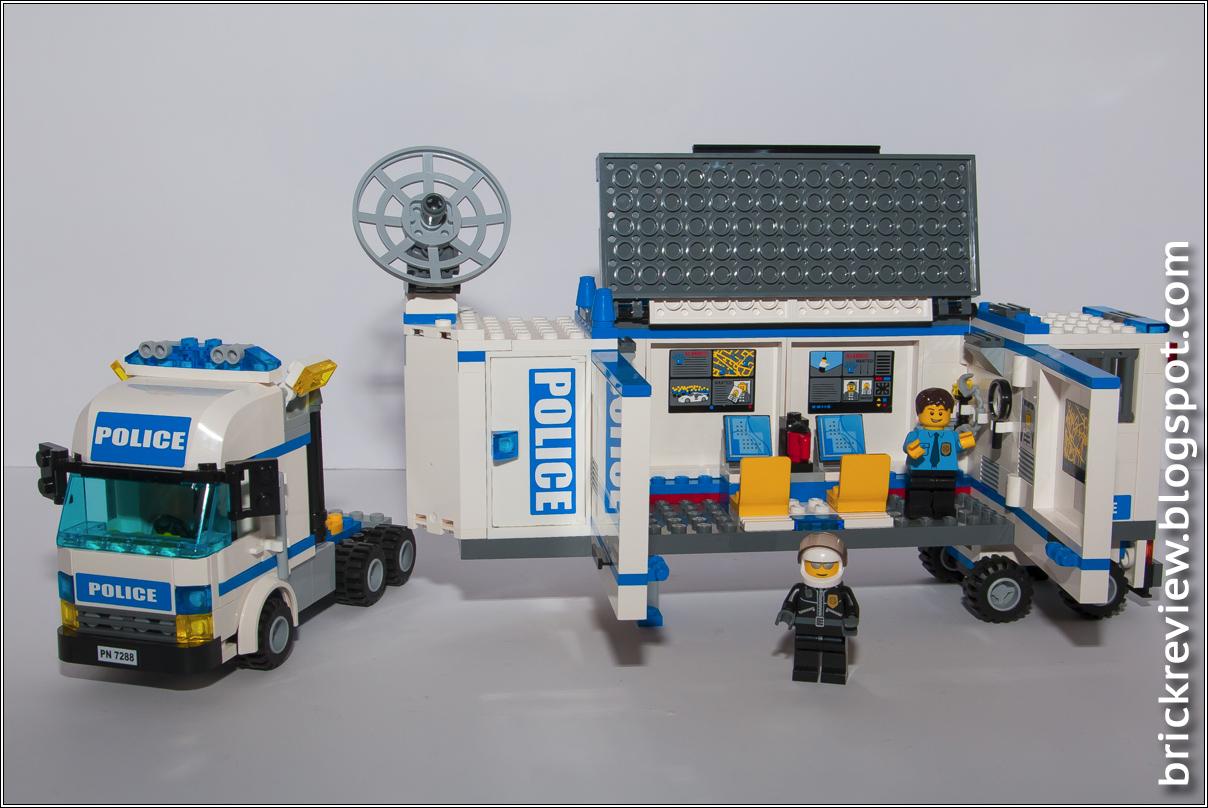 Brickreview lego 7288 unita 39 mobile della polizia for Brick city motors reviews