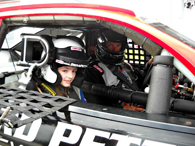 Katarina In A Race Car