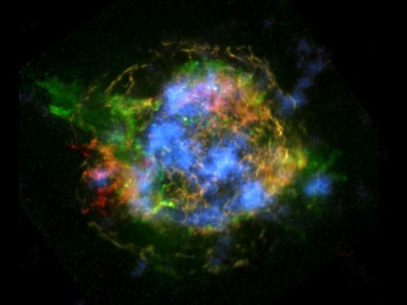 Astrofoto: Cinzas radioativas