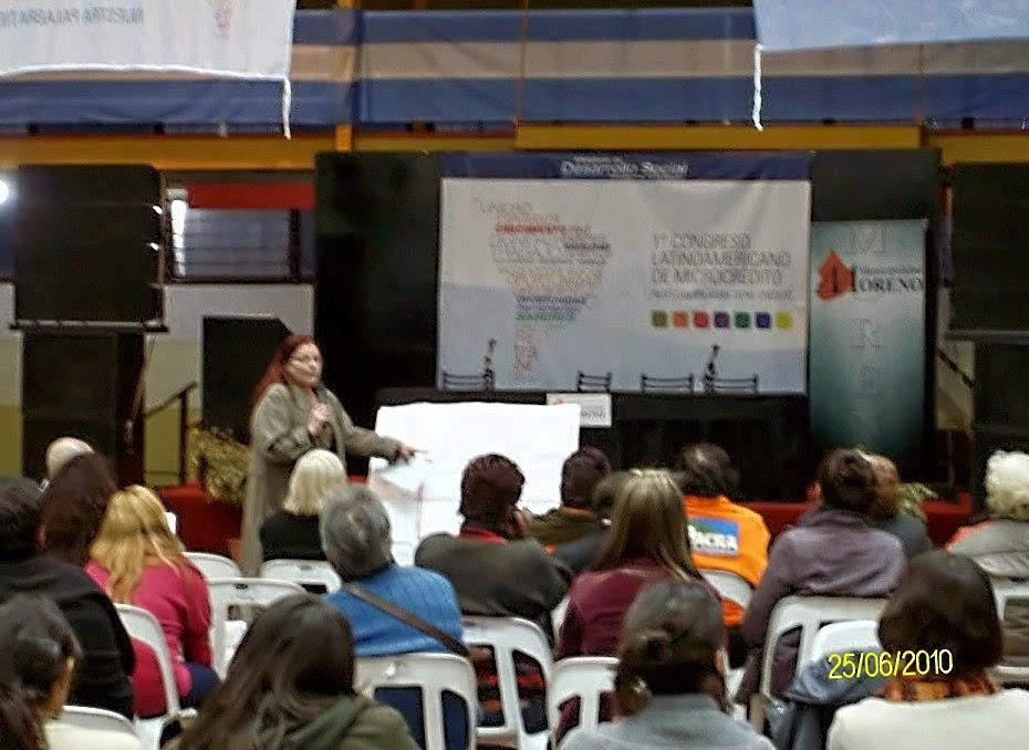 Disertacion en Seminario Latinoamericano Economía Social