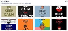KEEP CALM FACEBOOK ALBUM