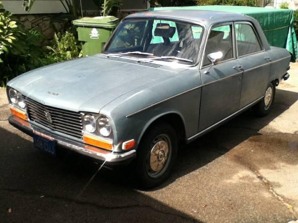 Rare In Usa Peugeot Sedan