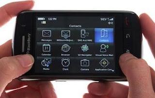 Mengetahui Penyebab dan Trik Mengatasi Touch Screen BlackBerry Storm Eror