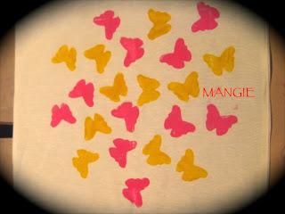 Estampamos con mariposas
