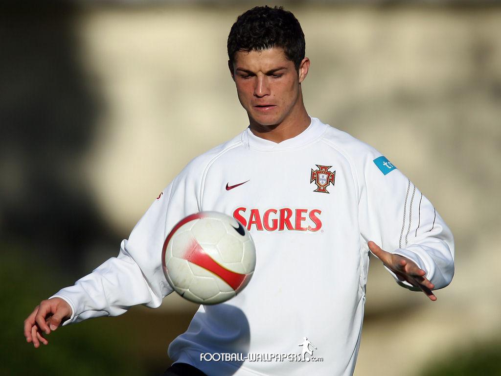 Cristiano Ronaldo On The Field