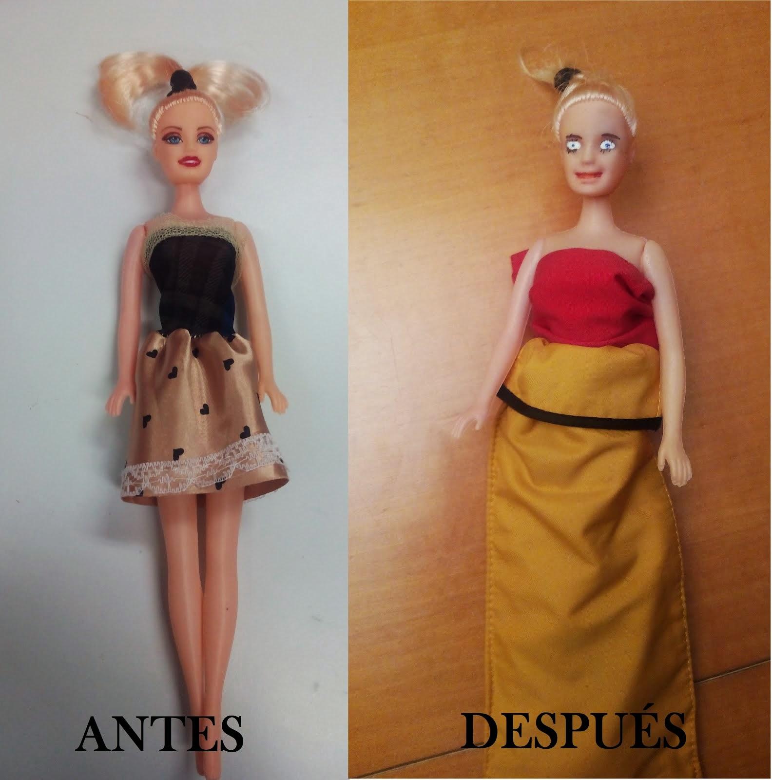 Transformación de muñecas