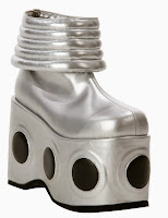 KISS Spaceman Adult Boots