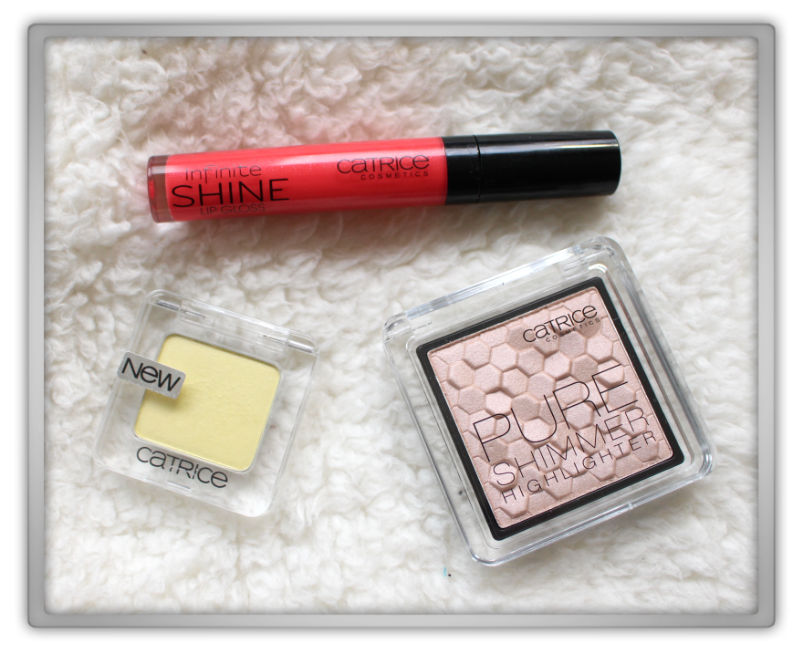 Catrice Nude Purism Pure Shimmer Highlighter limited edition march 2015 haul review 770 smoothie operator shine gloss 160 coraline