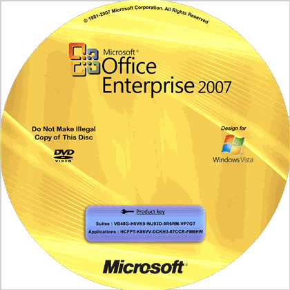 Crack office enterprise 2007 full
