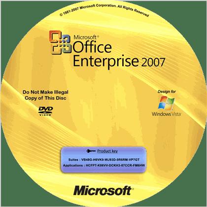 Crack office enterprise 2007 full