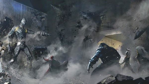 Magneto y los X-Men se enfrentan a los Centinelas