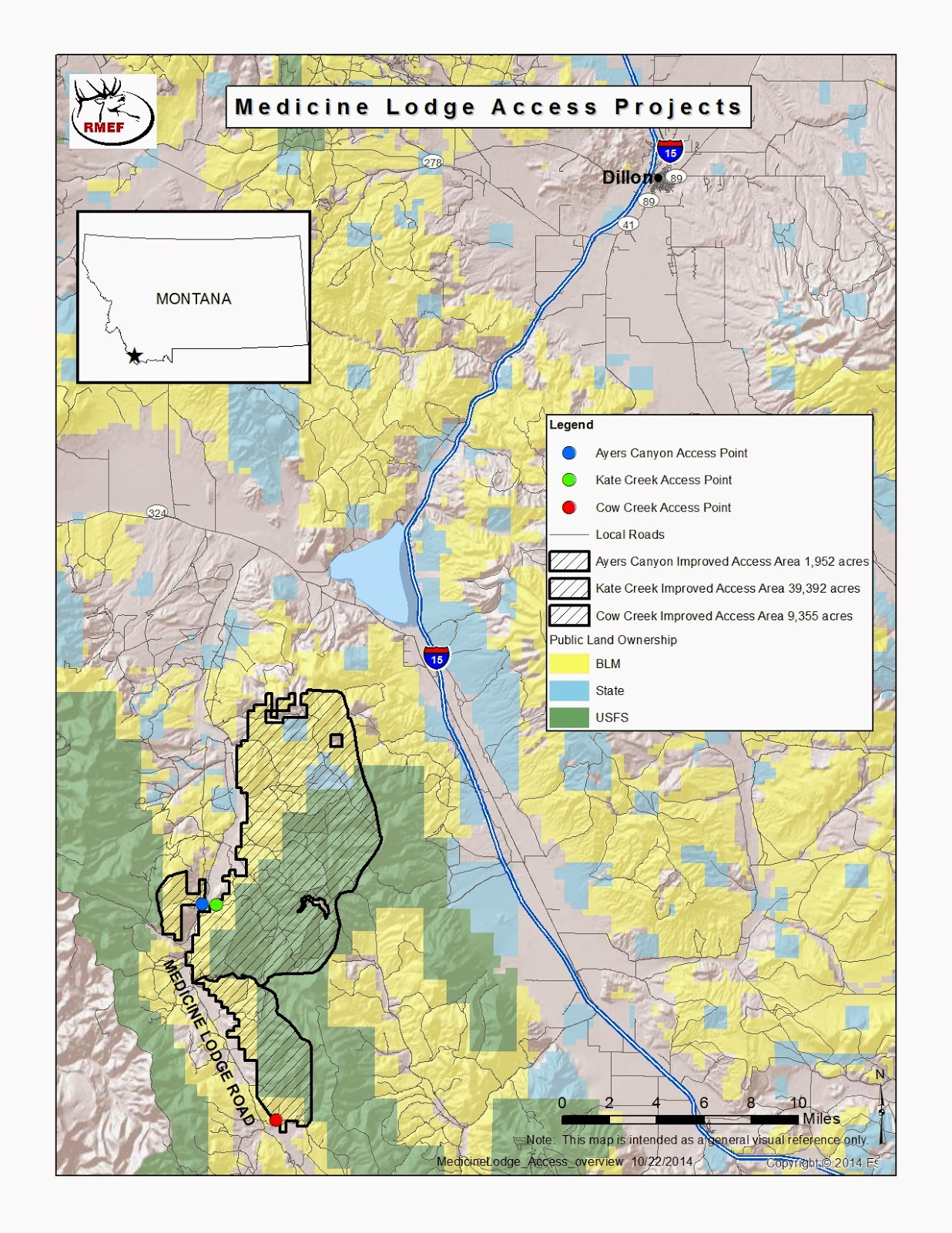 Elk Tracks Public Access Secured to 41 000 Acres in Southwest Montana