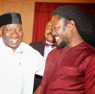 Daddy Showkey visits President Jonathan