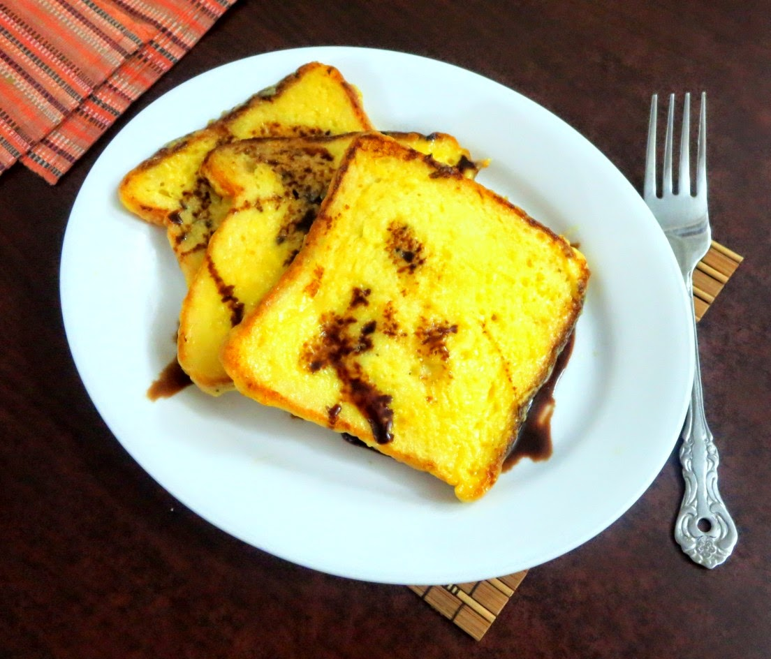 how to make bread toast in tawa