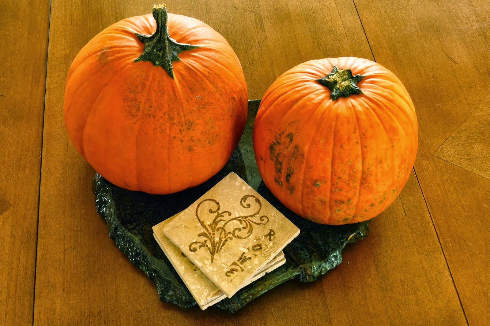 Pumpkin table decor