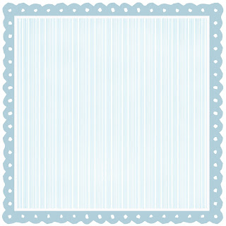 rough baby blue scalloped and striped digital paper for scrapbooking high resolution