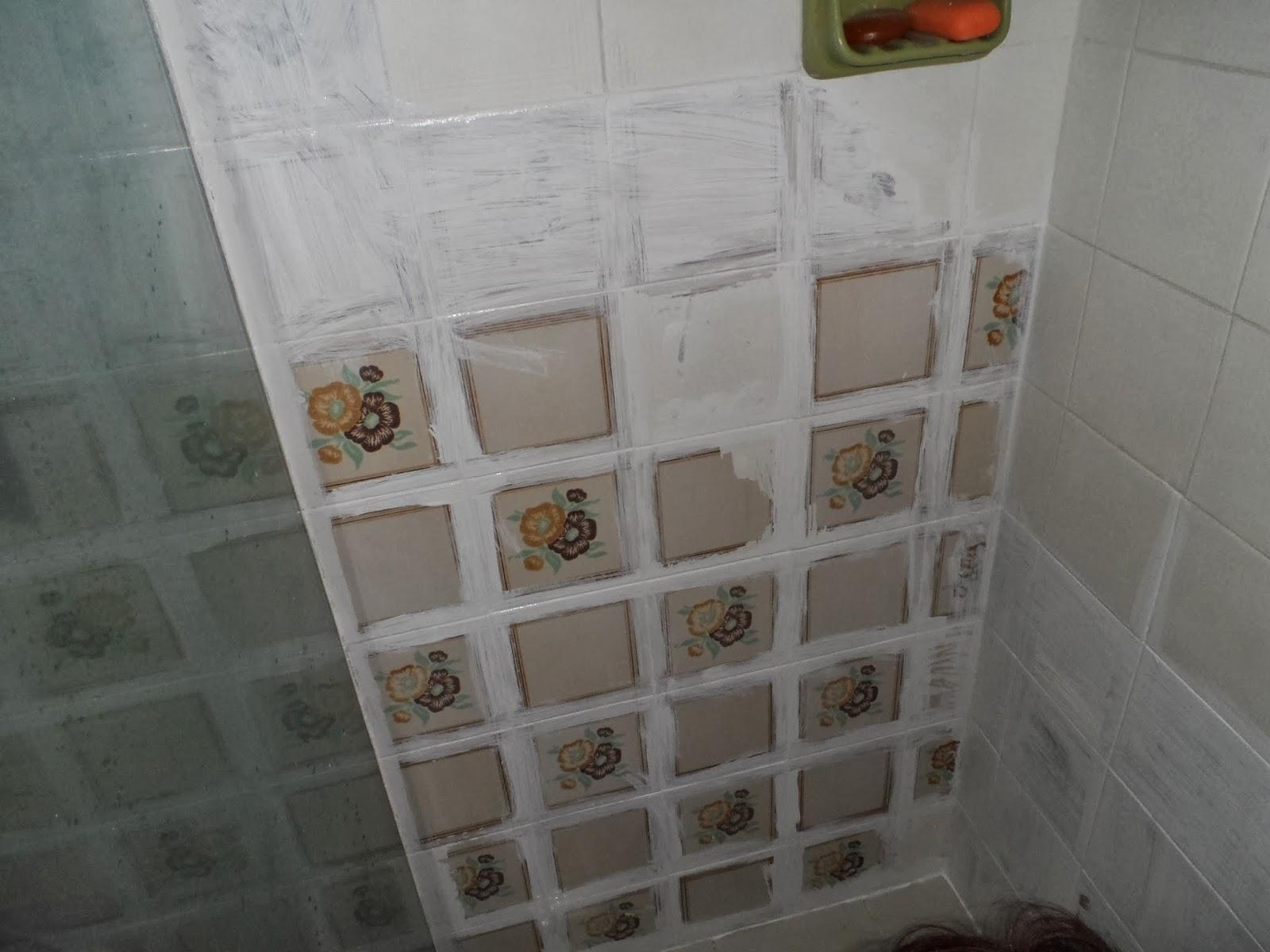 Fazendo arte by r refazendo pintura dos azulejos - Pintar azulejo ...