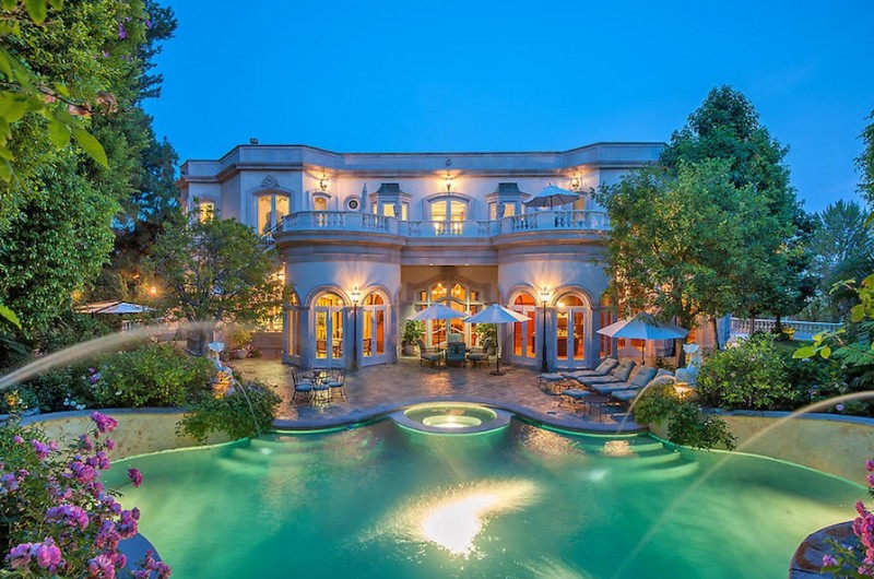 French Baroque Beverly Hills Chateau For Sale Luxury