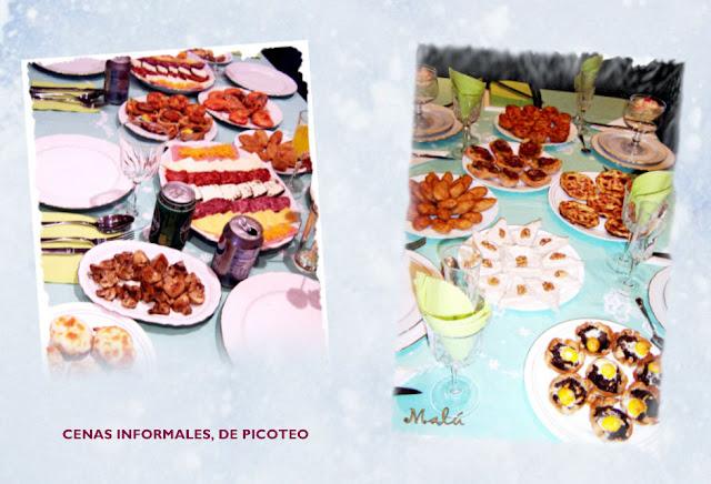Cocinando y jugando entre harina cenas informales 2 - Cena de picoteo en casa ...