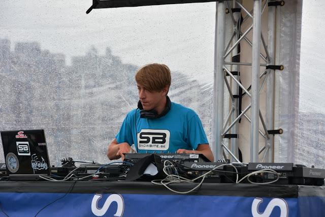 O'Neill Beach club Blankenberge Snowbite DJ