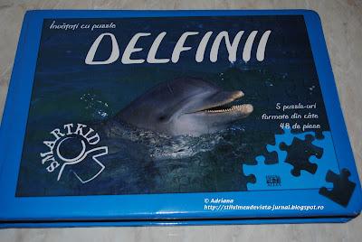 Delfinii, carti cu puzzle, editura All