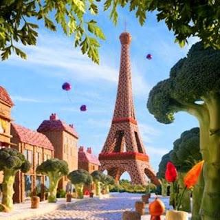 Torre Eiffel Maquete comestíve