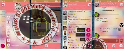 BBM Mod Tema Pink Everlasting Love Ubdate Terbaru v2.8.0.21