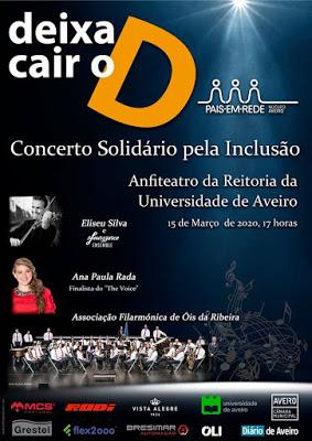 TUNA / AFOR num concerto solidário em Aveiro!