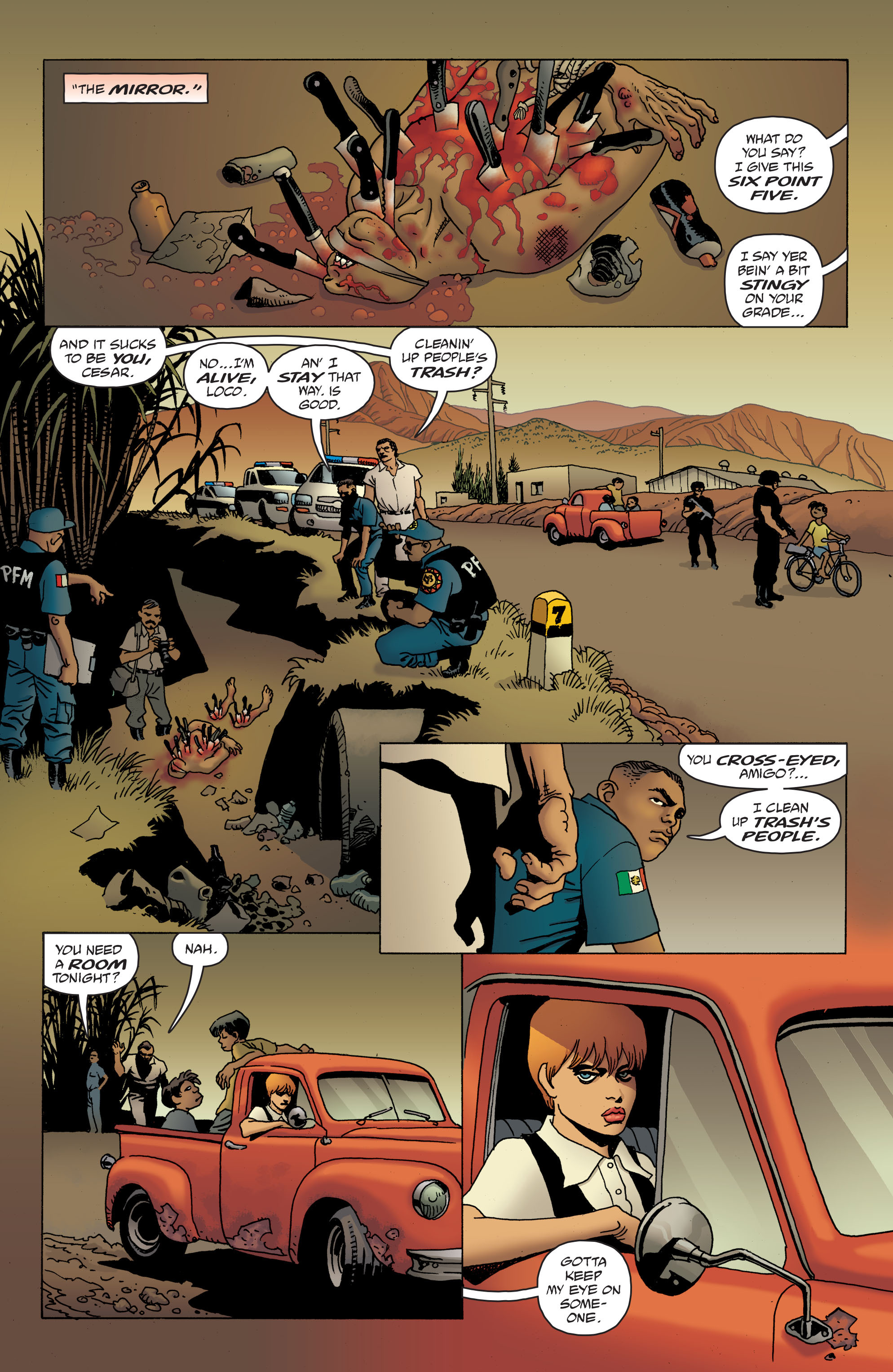 100 Bullets: Brother Lono Full Page 114