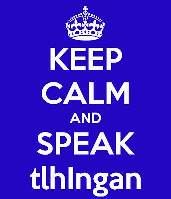 speak klingon