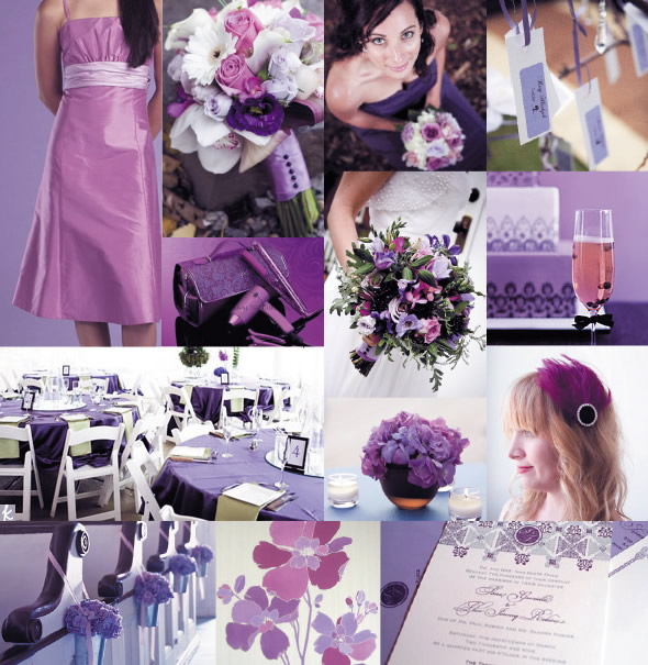Here is how you can have a lavender wedding decor