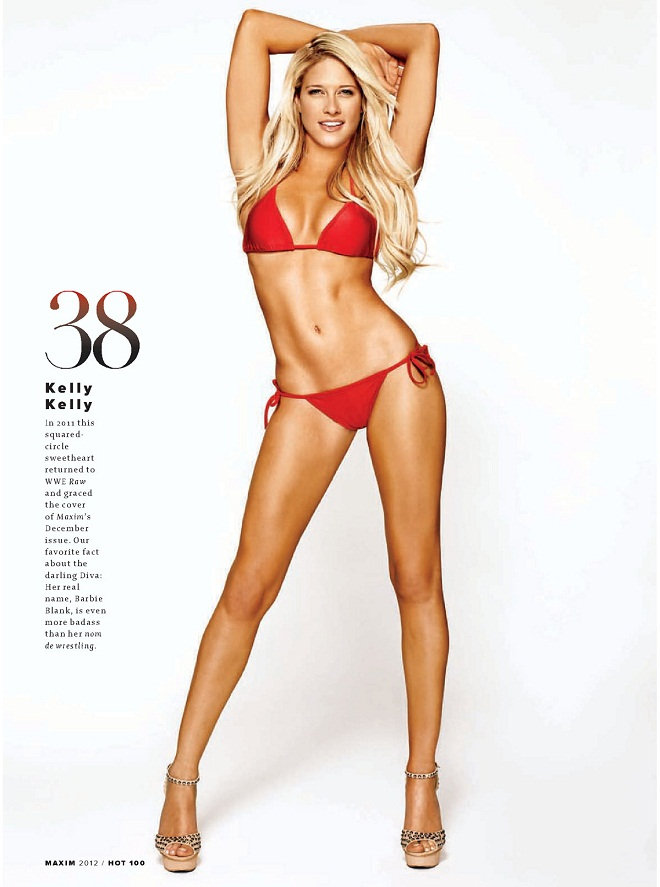 KELLY-KELLY - Maxim Hot 100