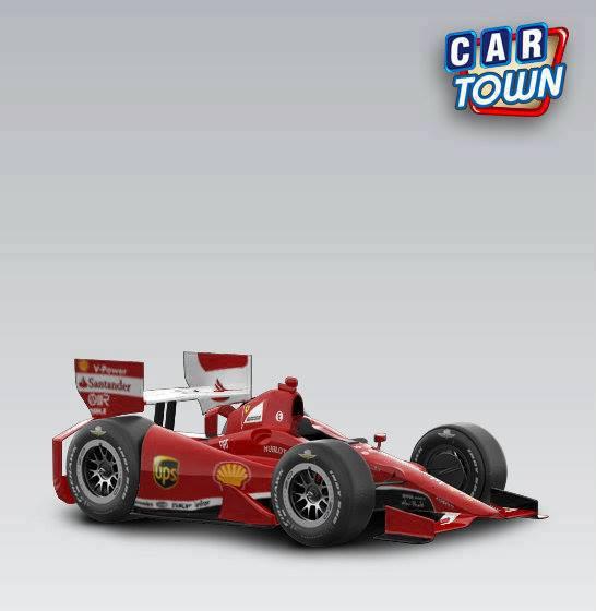 Car Town Manchetes: Skin IndyCar 2013