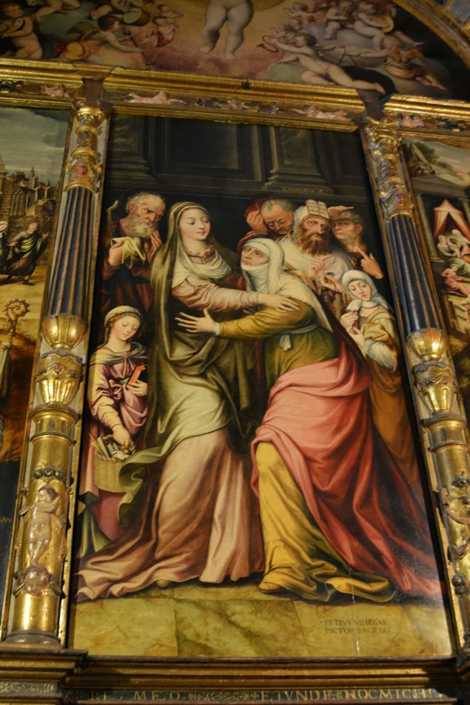 Cathedral of Sevilla paintings