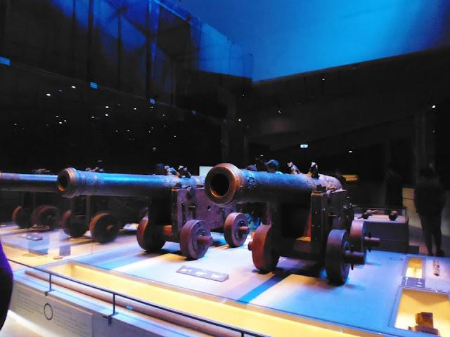 Cañones del buque Vasa