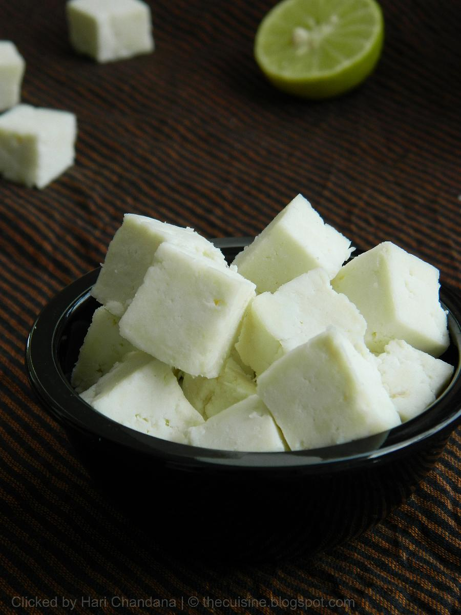 Cottage cheese india