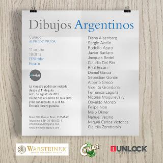 11-7 Inauguración de Dibujos Argentinos curada por alfredo Prior