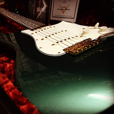 Fender Custom Shop Sherwood Green '65 RI Stratocaster