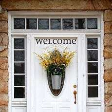 Front Door Decorations Ideas